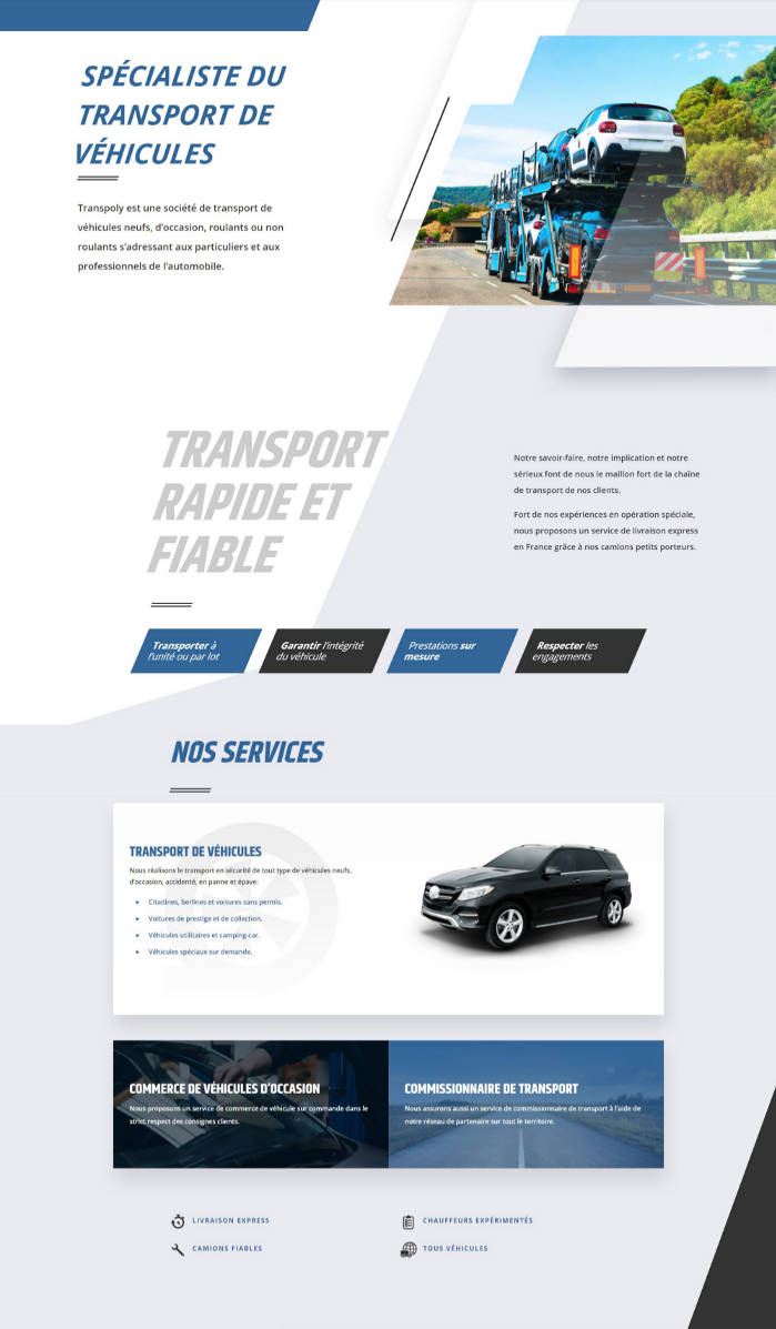 creation-site-entreprise-transport-presentation