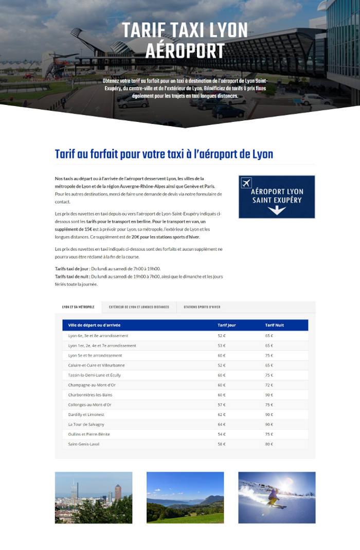 site-internet-taxi-tarif