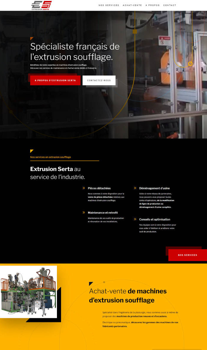 site-web-industrie-plasturgie-accueil