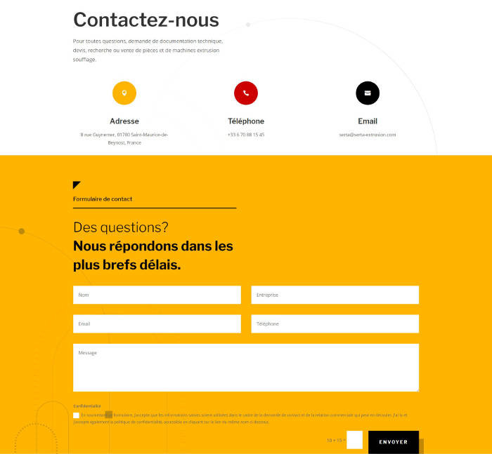 site-web-industrie-plasturgie-contact
