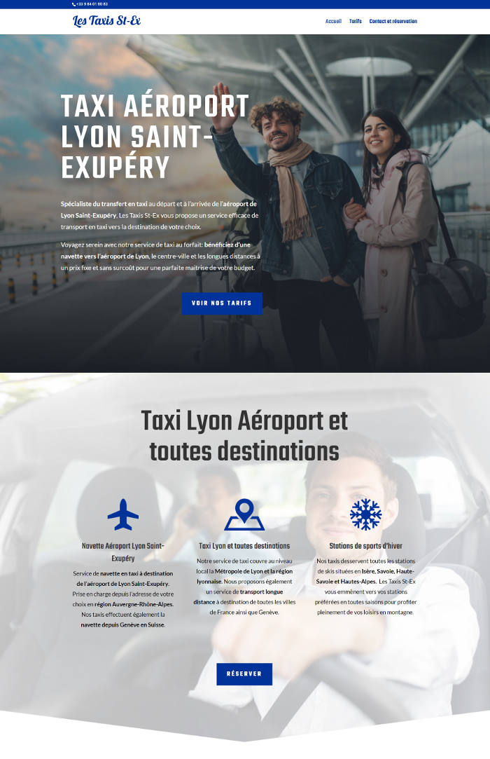 site-web-taxi-page-accueil